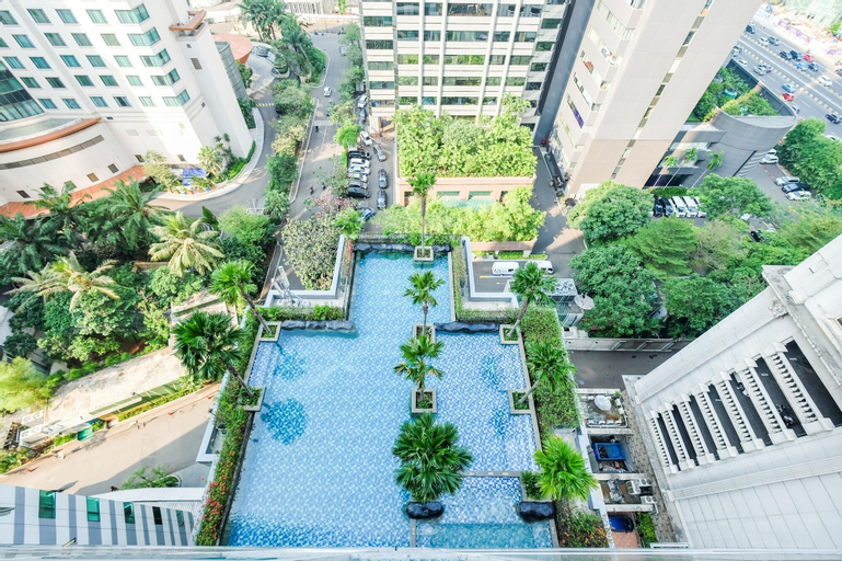 Furnished 2BR Apartment at Sahid Sudirman Residence, Central Jakarta