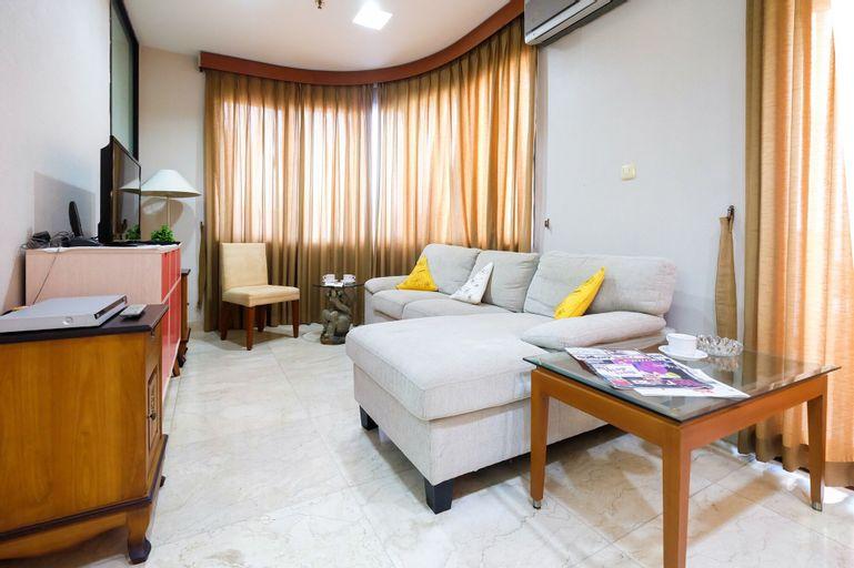Big 2BR Park Royale Apartment near JCC and Semanggi, Central Jakarta
