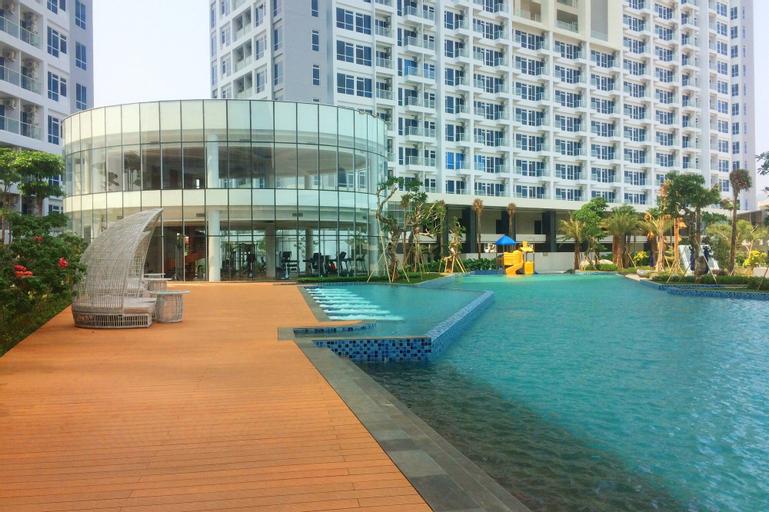 Homey and Modern 2BR Puri Mansion Apartment, West Jakarta
