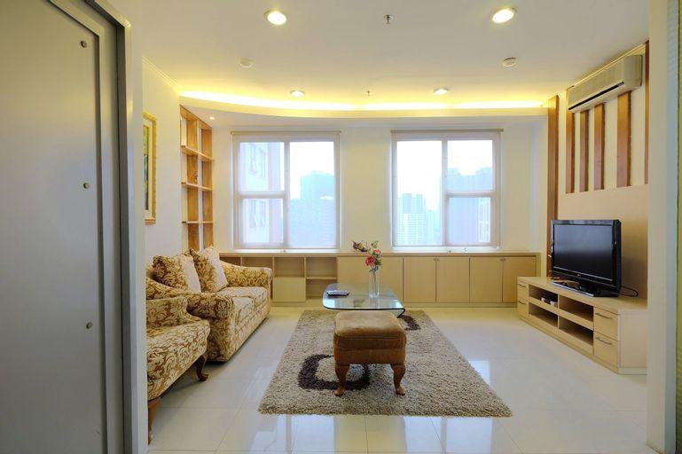 2BR Casablanca Mansion Apartment near Mall Kota Kasablanka and Setiabudi, Jakarta Selatan