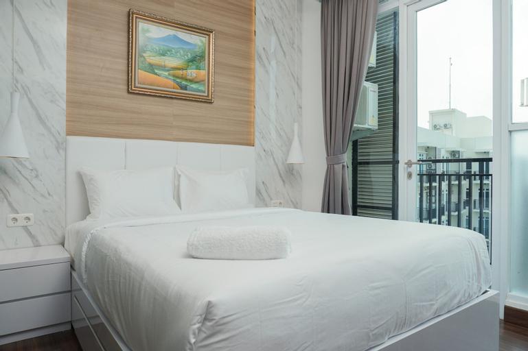 Pleasant 1BR Apartment at Puri Orchard, West Jakarta