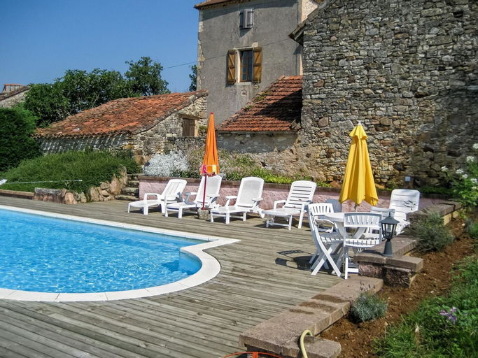 House With 4 Bedrooms in Lherm, With Private Pool, Furnished Terrace a, Lot