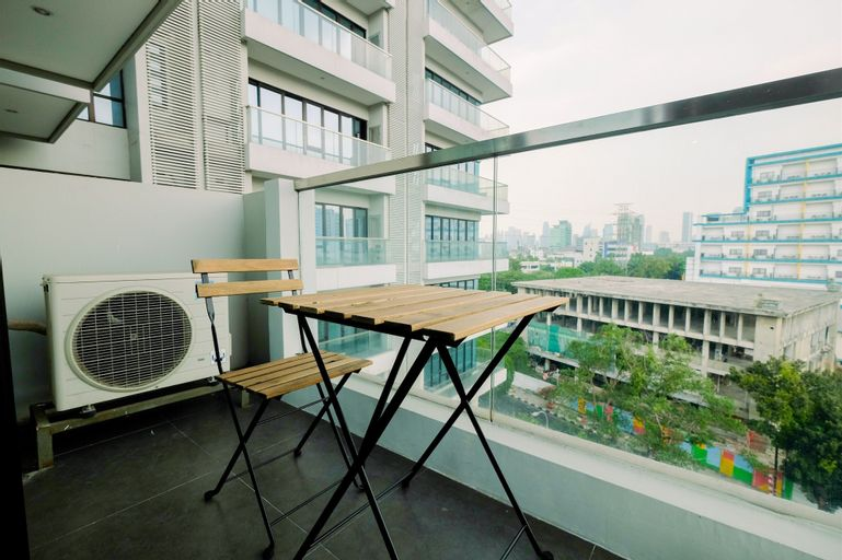 Monas View Studio Apartment at Capitol Suites By Travelio, Central Jakarta