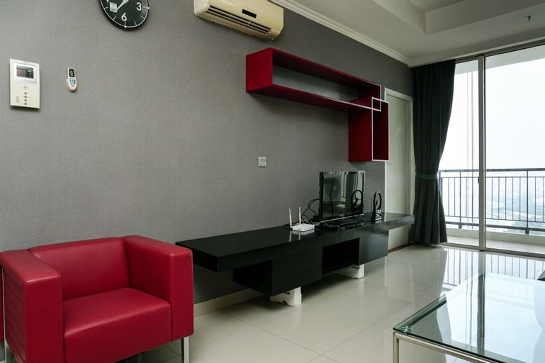 1BR Apartment with City View at Ancol Mansion, North Jakarta