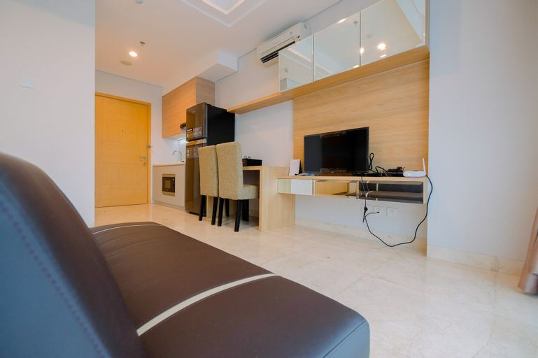 Spacious Studio Room at Capitol Suites Apartment By Travelio, Central Jakarta