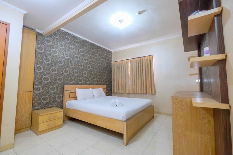 Cozy 1BR Mediterania Boulevard Apartment, Central Jakarta