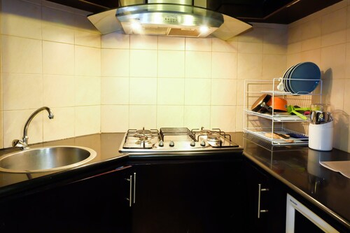 Exclusive 1 Bedroom Batavia Apartment by Travelio, Central Jakarta