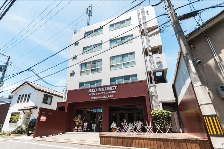 RED HELMET HOUSE&SPORTS CAFÉ BAR HIROSHIMA - Hostel, Hiroshima