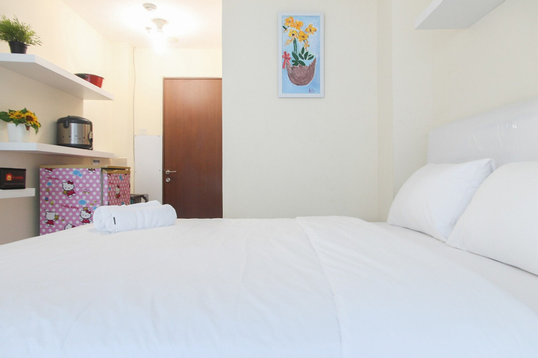 Chic and Cozy Studio at Tifolia Apartment By Travelio, East Jakarta