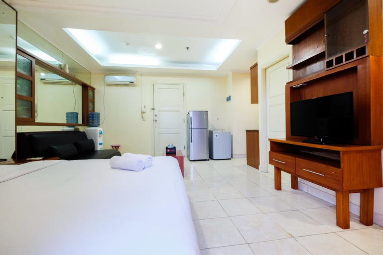 Simply Spacious Studio Room at City Home Apartment near Kelapa Gading By Travelio, Jakarta Utara