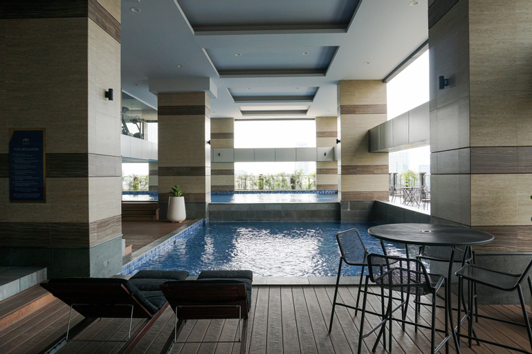 Big and Cozy 3BR Apartment at Maqna Residence, West Jakarta