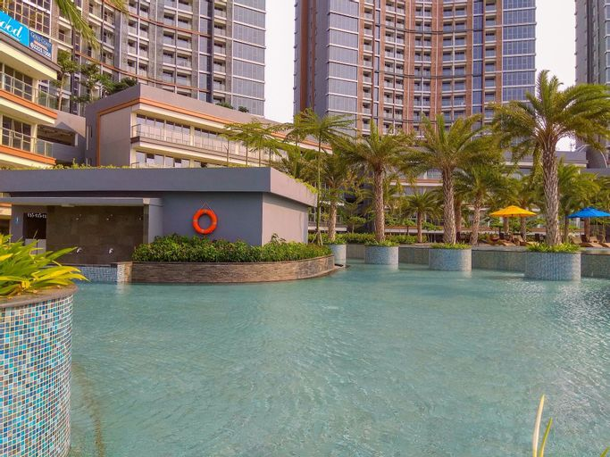 Best Price Studio Apartment at Gold Coast By Travelio, Jakarta Utara