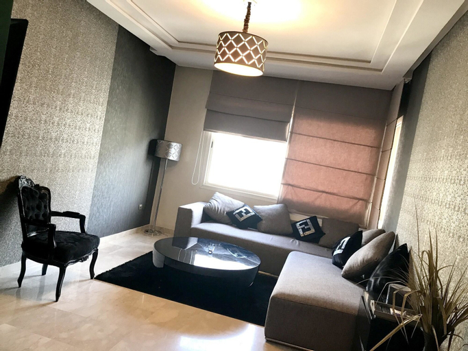 Apartment With 3 Bedrooms in Casablanca, With Balcony - 7 km From the Beach, Casablanca
