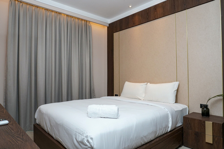 Minimalist and Cozy 2BR Citralake Suites Apartment By Travelio, West Jakarta