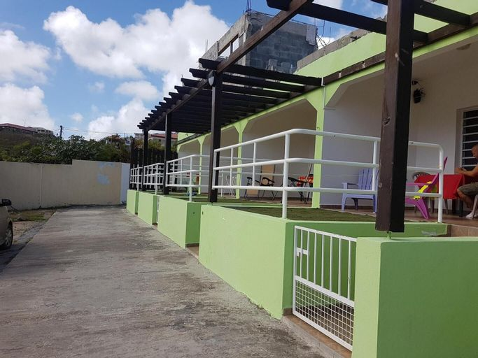 House With 2 Bedrooms in La Savane, With Wonderful sea View, Furnished,