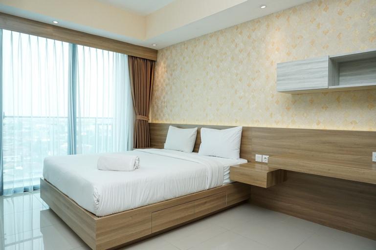 Cozy Studio Apartment at Nine Residence connected to Mall By Travelio, South Jakarta