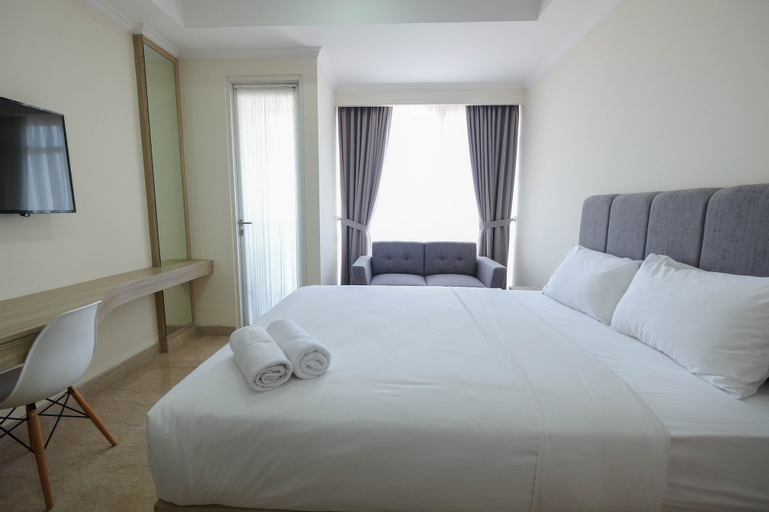 Simply Furnished Studio @ Menteng Park Apartment By Travelio, Central Jakarta