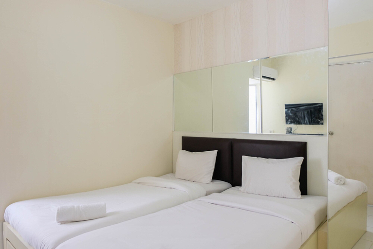 Stylish Compact Studio Apartment at Aeropolis Residence, Tangerang