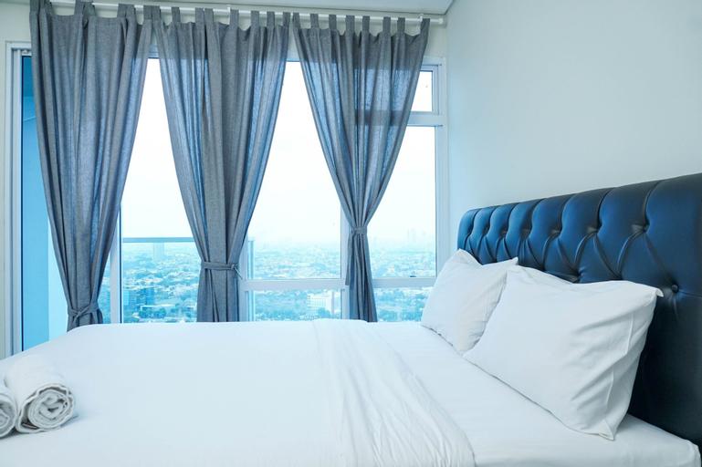 Minimalist Studio Apartment at Puri Mansion By Travelio, West Jakarta