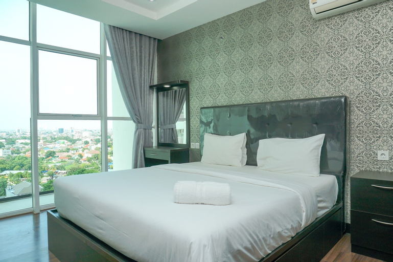 Stunning 2BR Apartment at Satu8 Residence By Travelio, West Jakarta