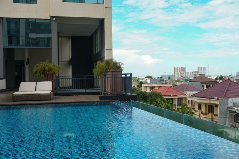 Spacious 2BR Apartment at Wang Residence By Travelio, West Jakarta
