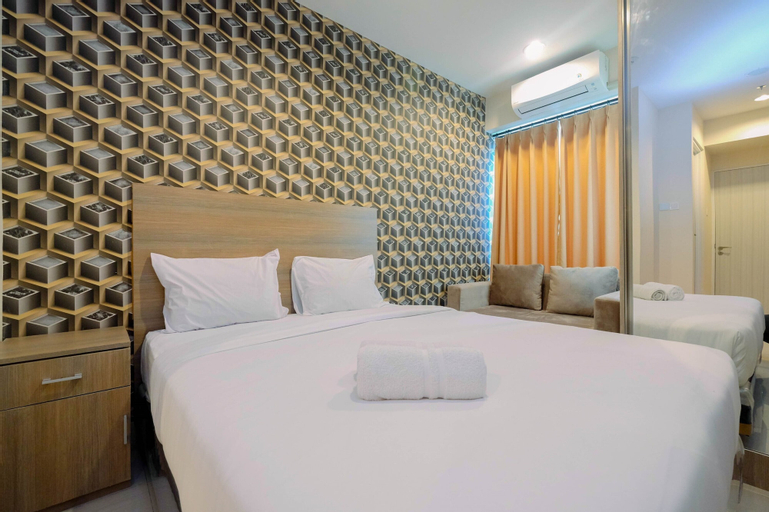 Emerald North Tower Studio Apartment Grand Kamala Lagoon By Travelio, Bekasi