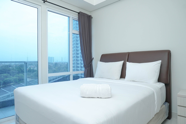 Simple and Minimalist 3BR Apartment at Puri Mansion, West Jakarta