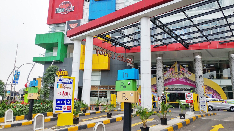 Modern Style 2BR Apartment Bassura City near Shopping Mall, East Jakarta
