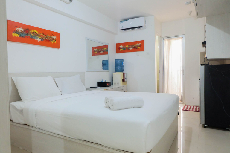 Tidy Studio Apartment at Bassura City near Shopping Mall By Travelio, East Jakarta