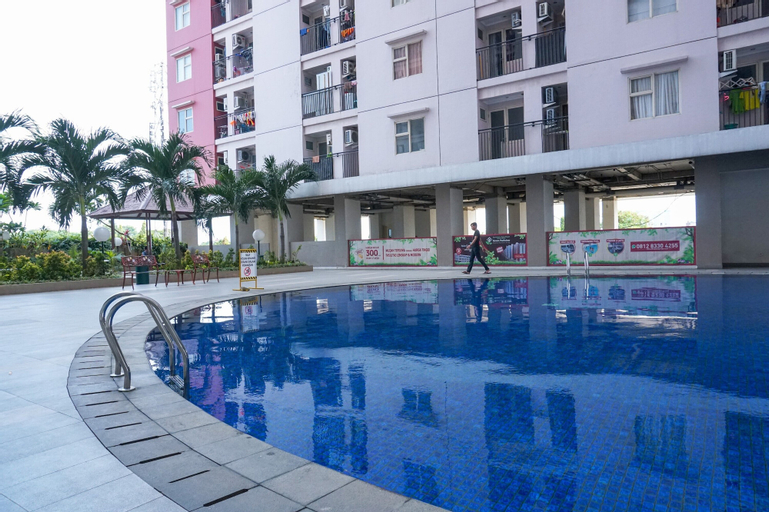 Fully Furnished Studio at Green Park View Apartment By Travelio, West Jakarta