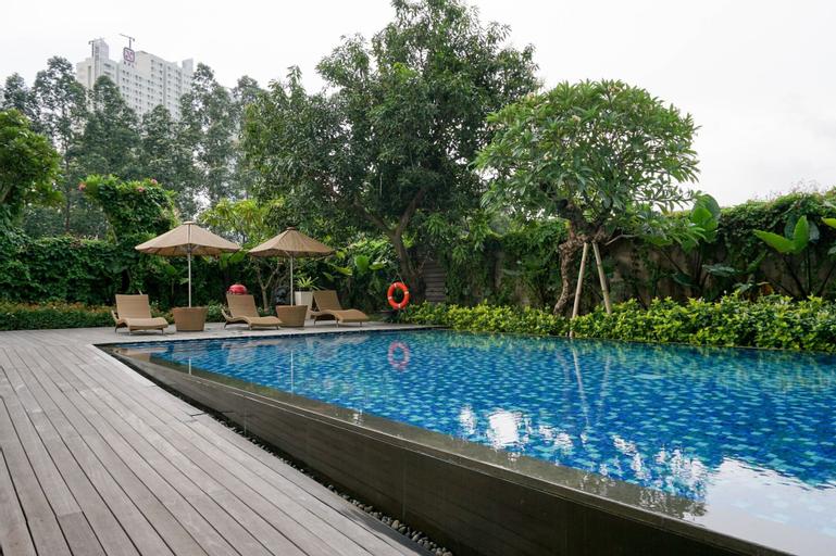 Exclusive 1BR Veranda Residence @ Puri Apartment By Travelio, West Jakarta