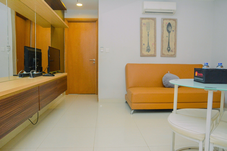 1BR at The Mansion Kemayoran Apartment with Sea View By Travelio, Jakarta Pusat