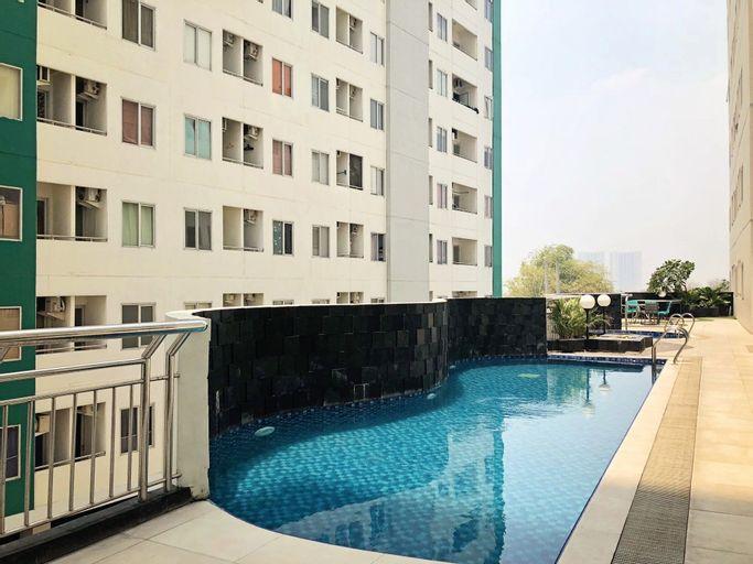 Comfy Studio Apartment at Pavilion Permata with City View By Travelio, Surabaya