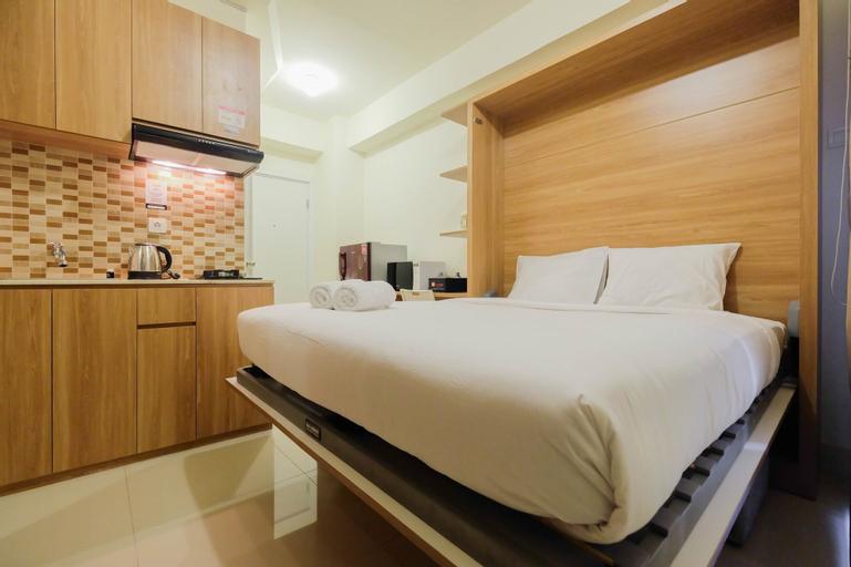 Modern Studio Apartment 27th on Top of Green Pramuka Mall, Central Jakarta