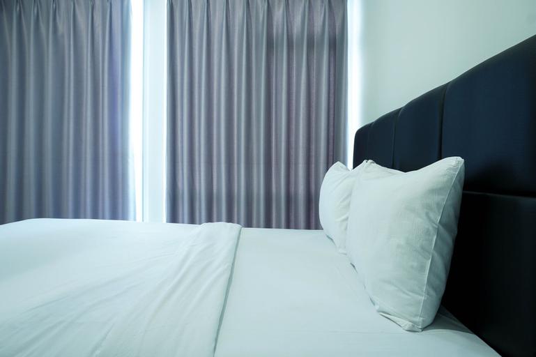 Modern with City View @ Studio Puri Mansion Apartment By Travelio, West Jakarta