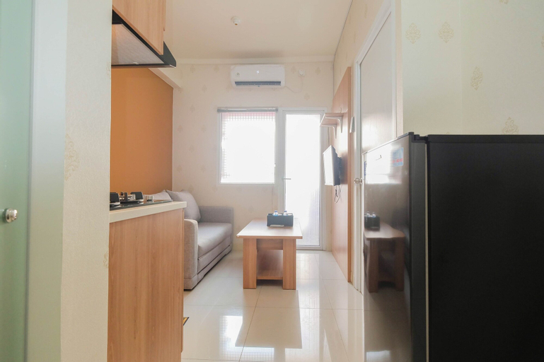 2BR Apartment Green Pramuka City near Shopping Mall By Travelio, Central Jakarta