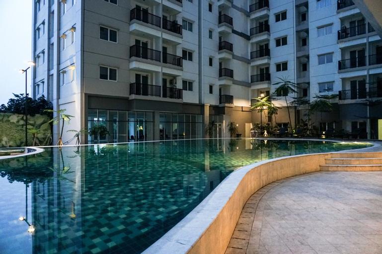 Cozy 1BR at Signature Park Grande Apartment, East Jakarta