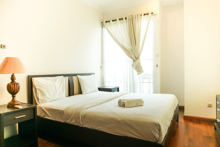 The Classic 2BR Belleza Apartment, South Jakarta