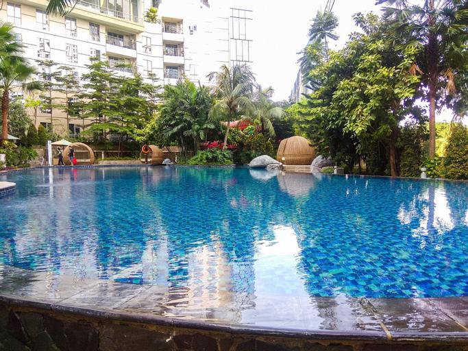 Spacious 1BR Unit The Mansion Kemayoran Apartment By Travelio, North Jakarta