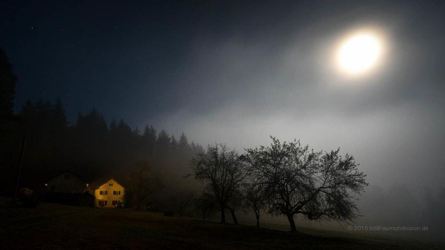 Haus am Waldesrand, Regen
