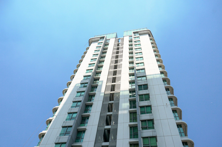 Modern 2BR at St. Moritz Apartment near Shopping Mall By Travelio, West Jakarta