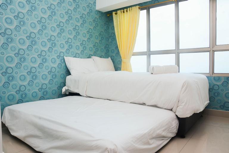 Cozy with City View @ Studio Springlake Bekasi Apartment By Travelio, Bekasi