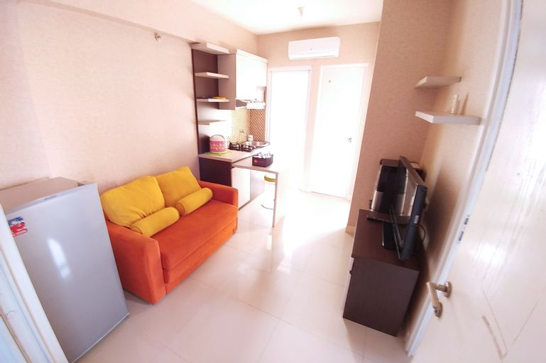 Good 2BR Apartment At Green Pramuka City By Travelio, Central Jakarta