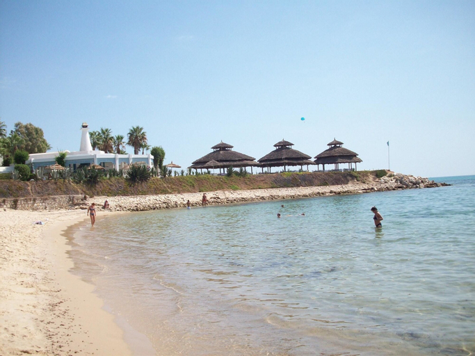 Apartment With one Bedroom in Hammamet, With Wonderful sea View, Furnished Garden and Wifi - 400 m From the Beach, Hammamet