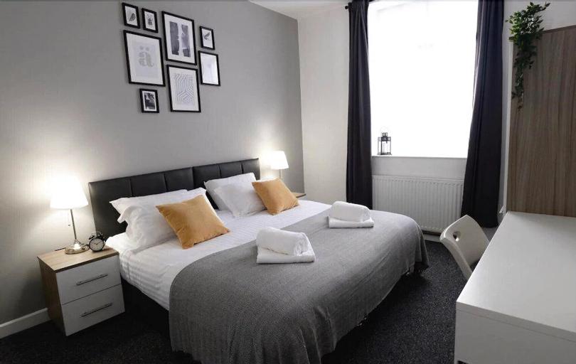 Oddfellows 9 Ensuite Double Room, Gateshead