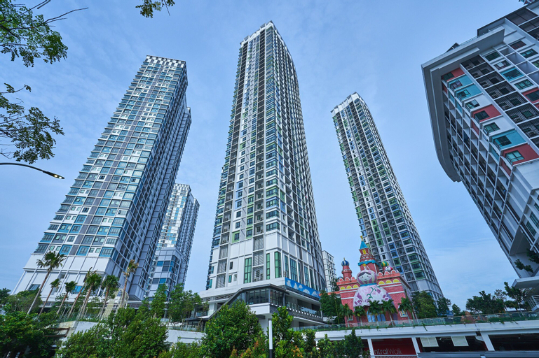 OYO Home 1143 Elegant 2br I-soho I-city, Kuala Lumpur