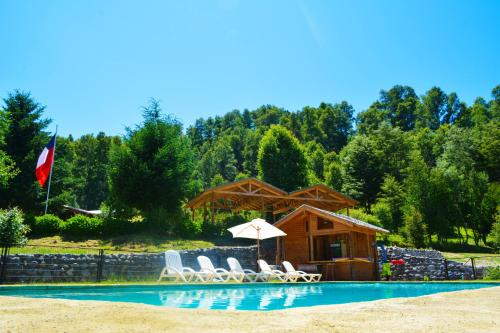 Traumaco Lodge, Cautín