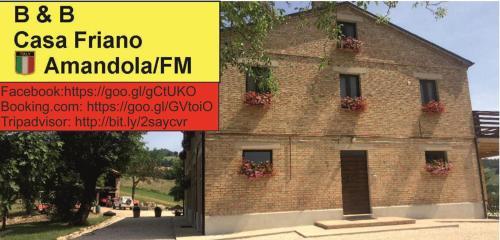 Casa Friano, Fermo