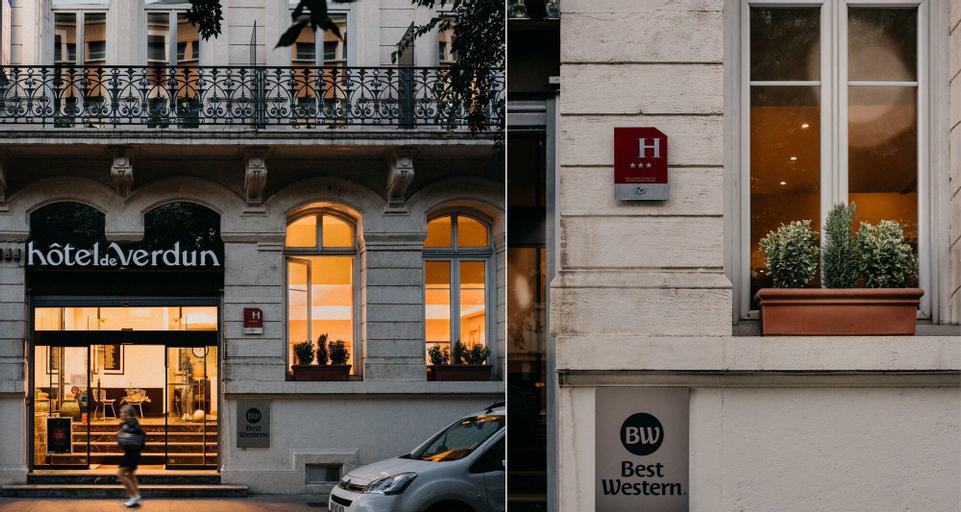 Best Western Hotel de Verdun, Rhône