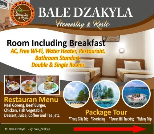Bale Dzakyla Sekotong, Lombok
